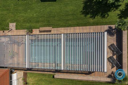 Luftaufnahme Rensson Terrassendach