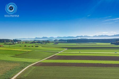 Blick ins Chiemgau
