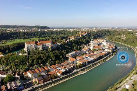 Luftaufnahme Burg zu Burghausen
