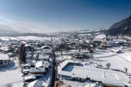 Luftaufnahme Reit im Winkl im Winter