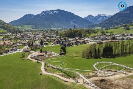 Luftaufnahme Chiemgau Coaster