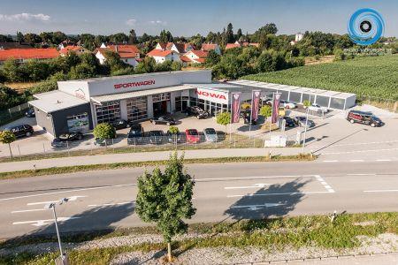 Luftaufnahme Porsche Meisterfachbetrieb