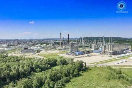 Luftaufnahme Industriegebiet Burghausen Nord