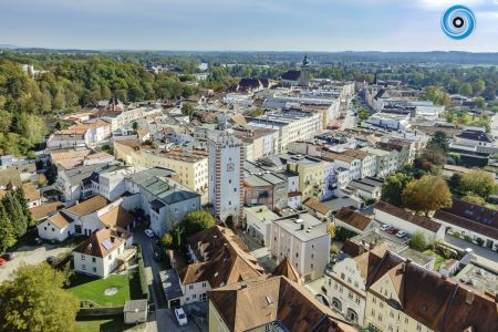 Luftaufnahme Stadtplatz Mühldorf