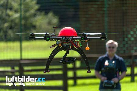 Hexacopter zu Besuch in Tirol