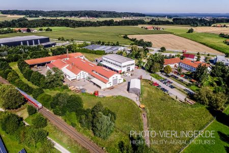 Luftaufnahme Kirsch Burghausen