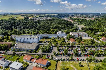 Luftaufnahme Krankenhaus Burghausen